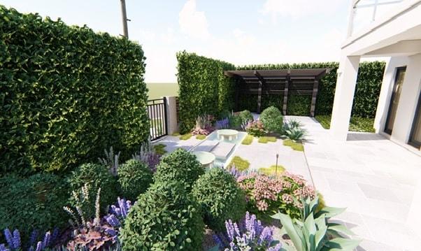 New Yard Design