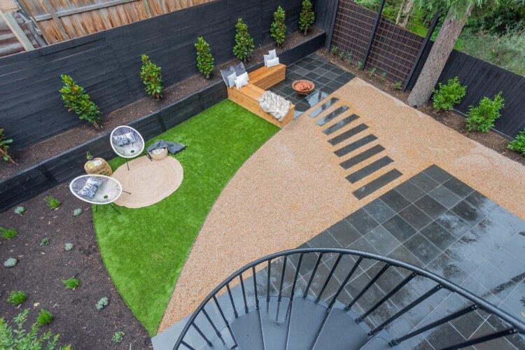 After Landscape design